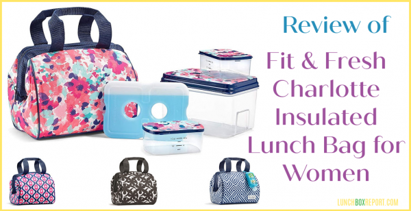 Fit & Fresh Women's Charlotte Insulated Lunch Bag Review