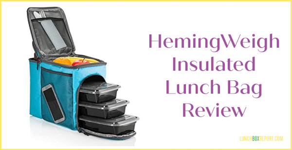 HemingWeigh Insulated Lunch Bag Review