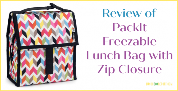 PackIt Freezable Lunch Bag with Zip Closure Review