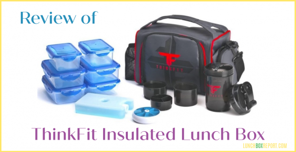 ThinkFit Insulated Lunch Box Review — 6 Portion Control Containers