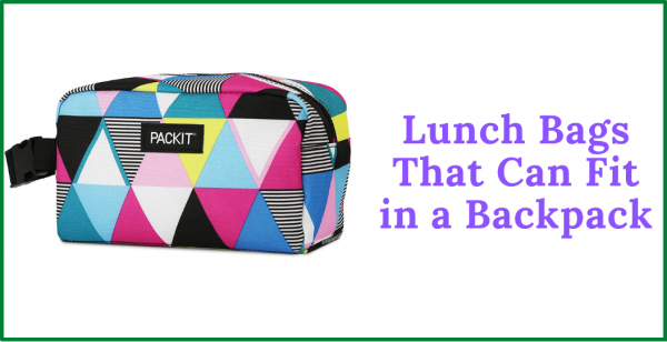 8 Of The Absolute Best Lunch Bags That Fit in a Backpack