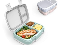 3 Compartment Lunch Boxes